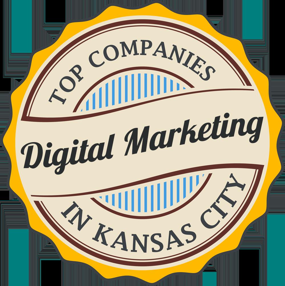 best digital marketing agency in kansas city blogger local badge